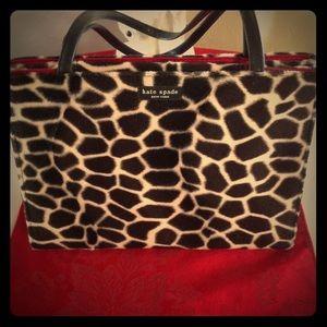 Bag By Kate Spade Vintage Giraffe Print